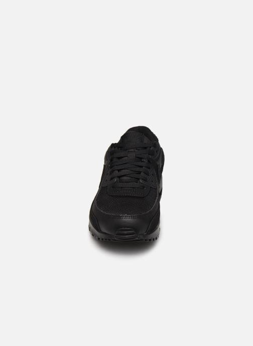 Baskets Nike AIR MAX 90 M Noir vue portées chaussures