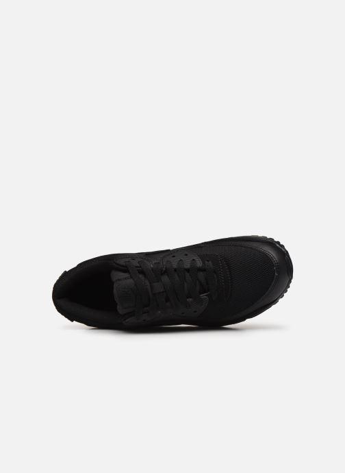 Deportivas Nike AIR MAX 90 M Negro vista lateral izquierda