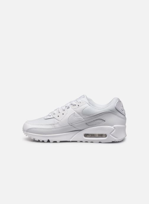 Trainers Nike AIR MAX 90 M White front view