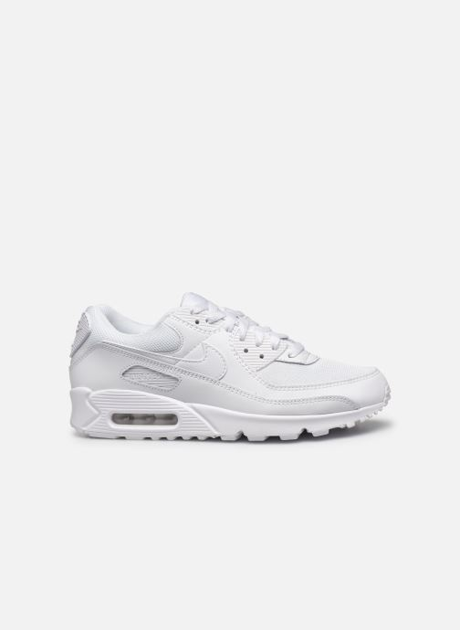 Trainers Nike AIR MAX 90 M White back view