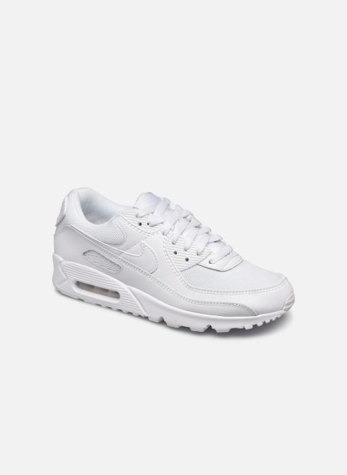 Baskets Nike AIR MAX 90 M Blanc vue détail/paire