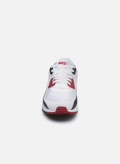Sneakers Nike AIR MAX 90 M Bianco modello indossato