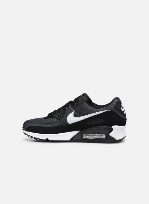 Sneaker Nike AIR MAX 90 M schwarz ansicht von vorne