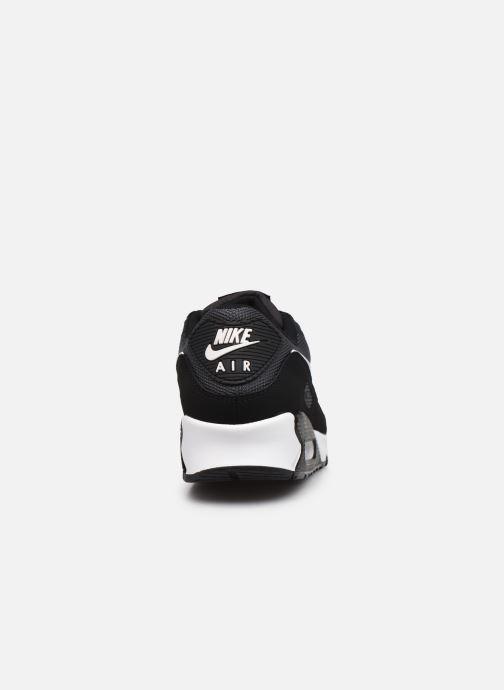 Deportivas Nike AIR MAX 90 M Negro vista lateral derecha