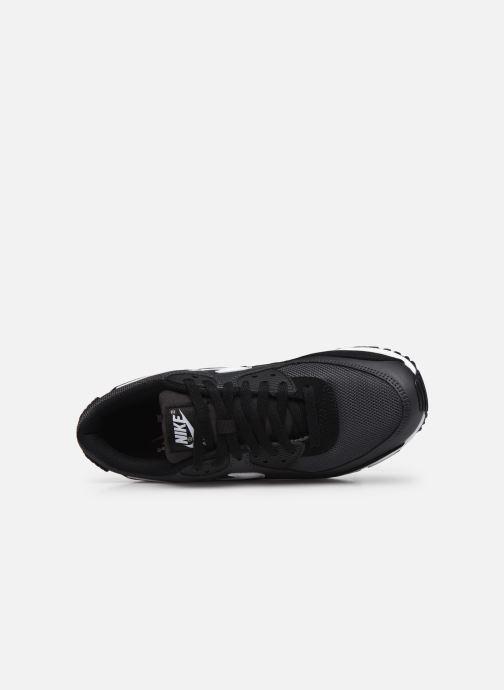 Sneaker Nike AIR MAX 90 M schwarz ansicht von links