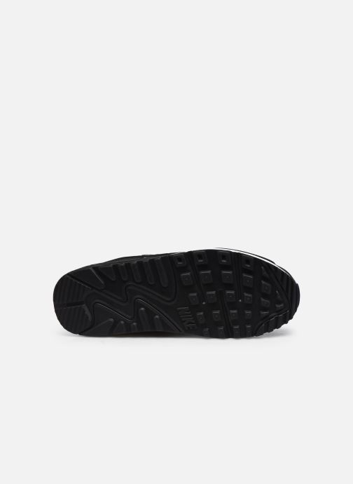 Sneaker Nike AIR MAX 90 M schwarz ansicht von oben