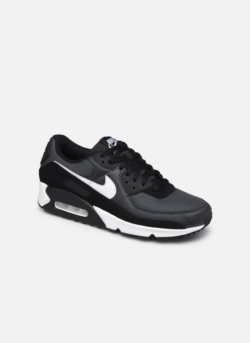 Sneaker Nike AIR MAX 90 M schwarz detaillierte ansicht/modell