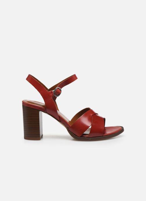 Sandales et nu-pieds Georgia Rose Parina Rouge vue derrière