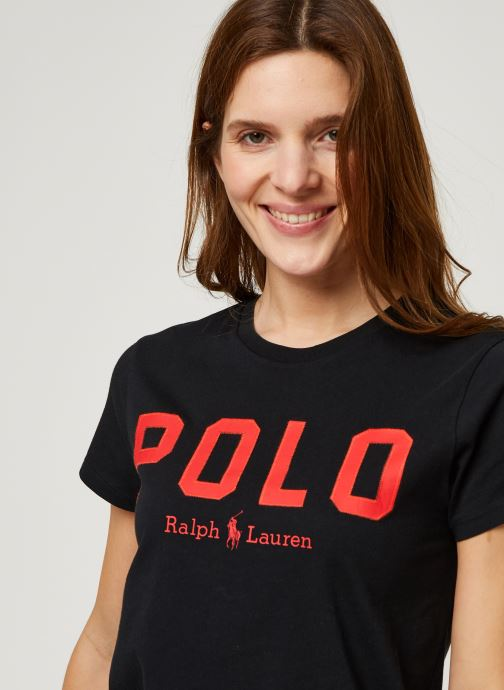 Vêtements Polo Ralph Lauren Pol Prd Rl T-Short Sleeve Tee Noir vue face