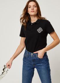 Beaded Cl Ft-Short Sleeve Polo