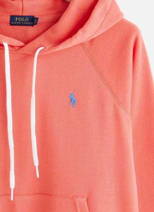 Kleding Polo Ralph Lauren Shrnkhdsmpp-Long Sleeve-Knit Rood model