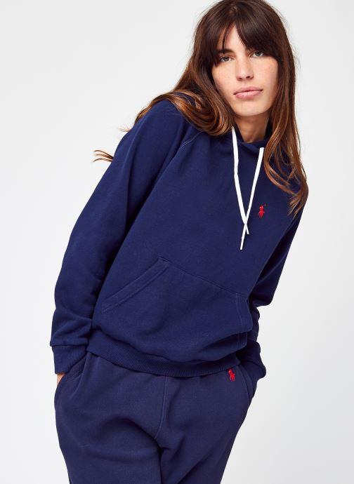 Abbigliamento Polo Ralph Lauren Shrnkhdsmpp-Long Sleeve-Knit Azzurro vedi dettaglio/paio