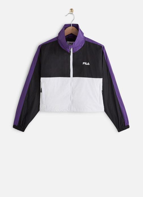 Kleding FILA Cage Cropped Woven Jacket Zwart detail