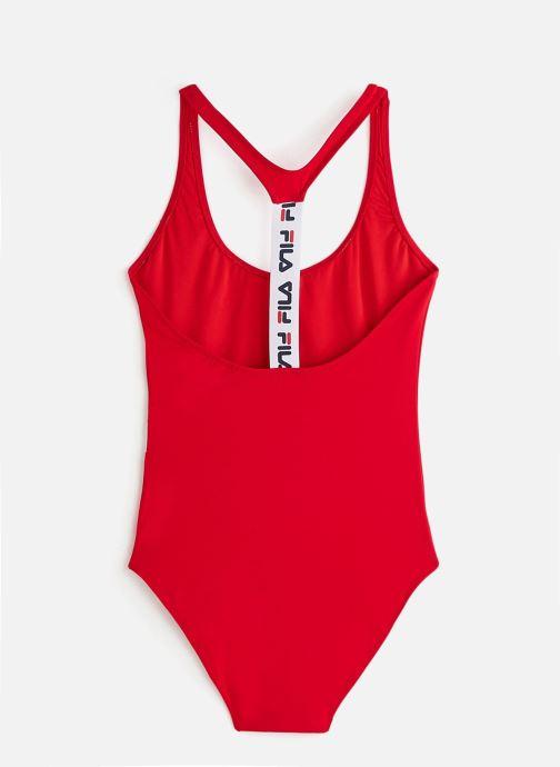 Vêtements FILA Yuko Swimsuit Rouge vue bas / vue portée sac