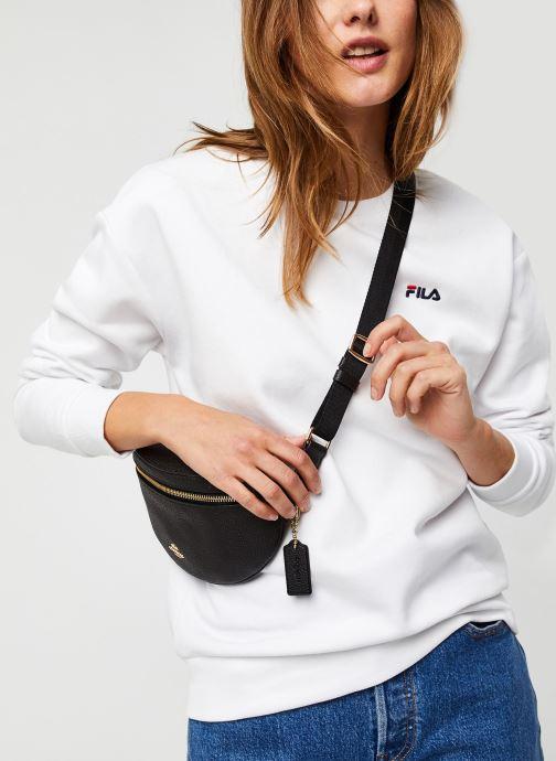Vêtements FILA Effie Crew Sweat Blanc vue détail/paire