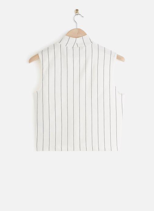 Vêtements FILA Westry Sleeveless Top Blanc vue bas / vue portée sac