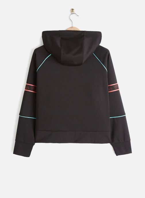 Vêtements FILA Addy Cropped Hoody Jacket Noir vue bas / vue portée sac