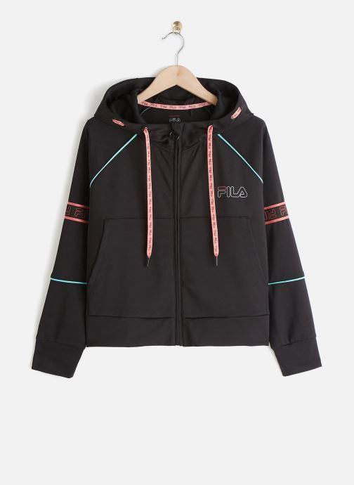 Vêtements FILA Addy Cropped Hoody Jacket Noir vue détail/paire
