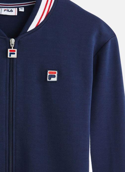 Vêtements FILA Settanta Track Jacket Bleu vue portées chaussures