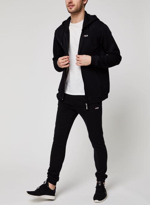 Vêtements FILA Edan Sweat Pants Noir vue bas / vue portée sac