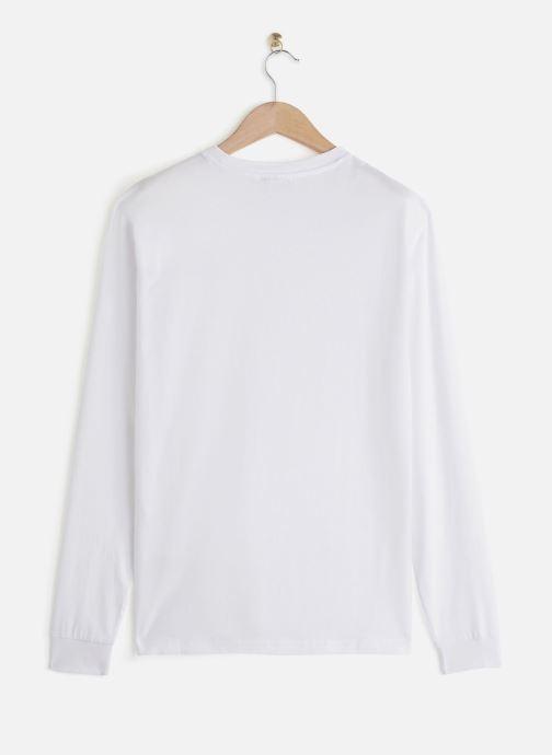 Vêtements FILA Eitan Long Sleeve Shirt Blanc vue bas / vue portée sac