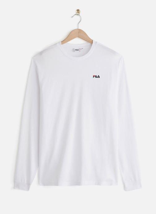 Vêtements FILA Eitan Long Sleeve Shirt Blanc vue détail/paire