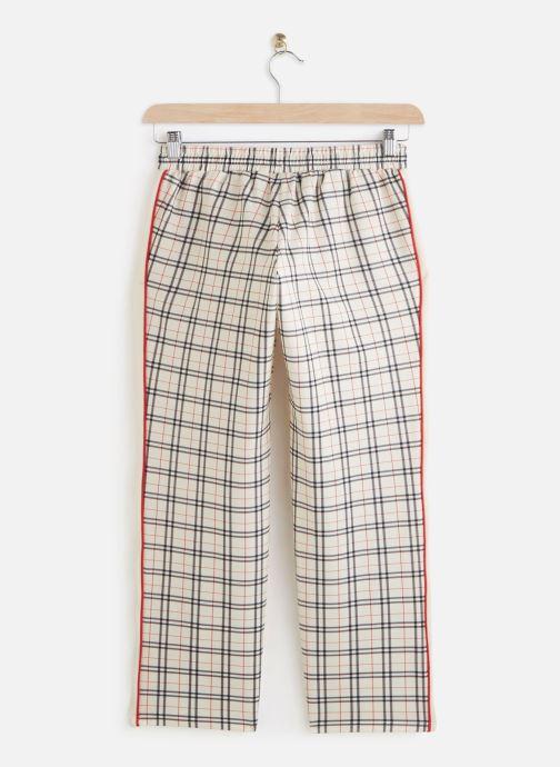 Vêtements FILA Tevy Aop Track Pants Beige vue bas / vue portée sac