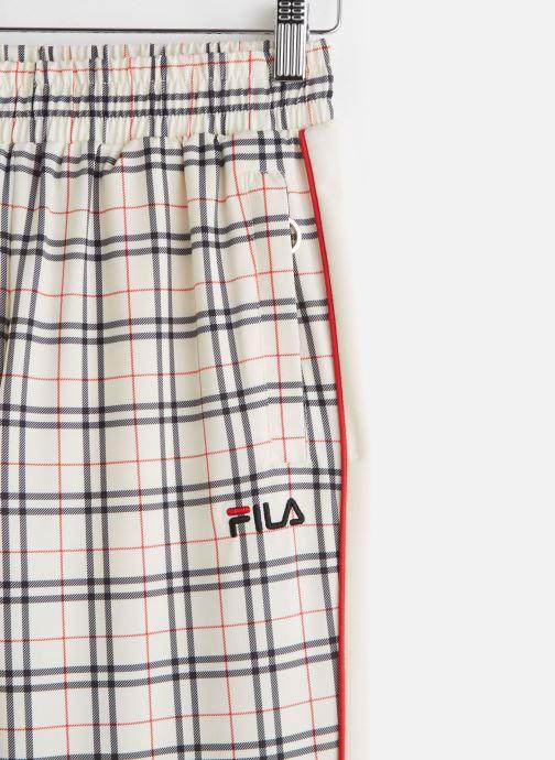 Vêtements FILA Tevy Aop Track Pants Beige vue portées chaussures