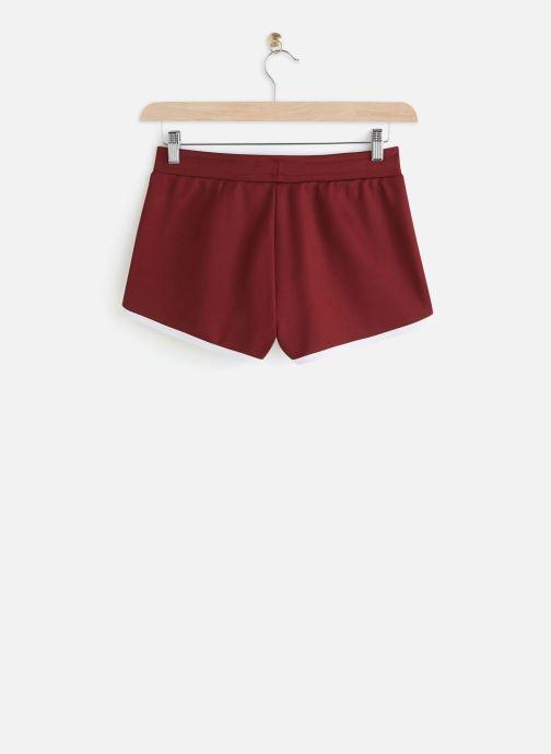 Vêtements FILA Saman Shorts Bordeaux vue bas / vue portée sac