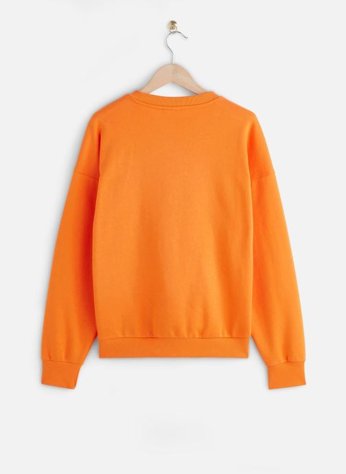 Vêtements FILA Suzanna Crew Sweat Orange vue bas / vue portée sac