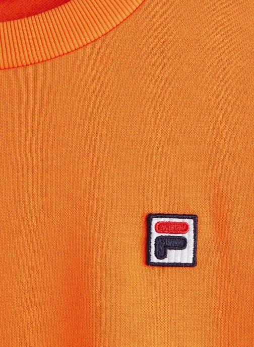 Vêtements FILA Suzanna Crew Sweat Orange vue portées chaussures