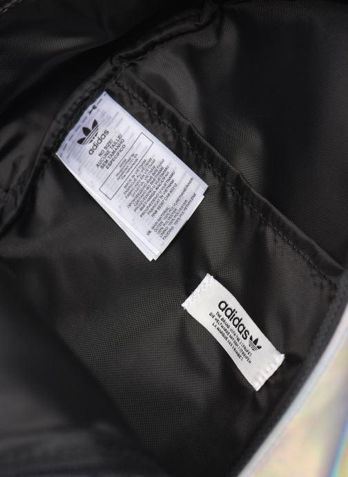 Mochilas adidas originals PU METALLIC Plateado vistra trasera