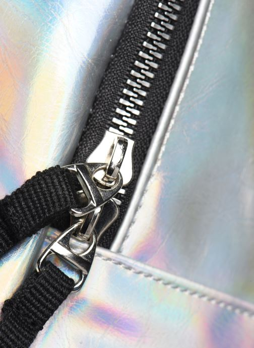 Rucksacks adidas originals PU METALLIC Silver view from the left