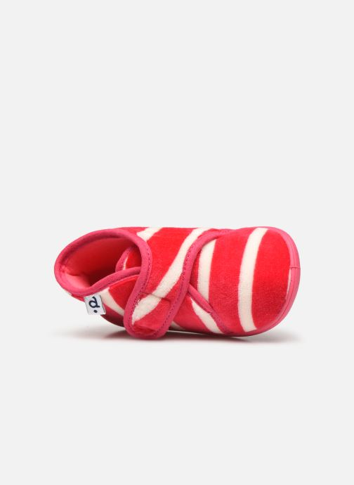 Pantofole Absorba Vrancy Rosa immagine sinistra