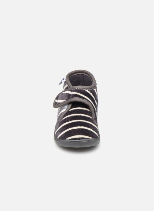 Chaussons Absorba Vinia Bleu vue portées chaussures