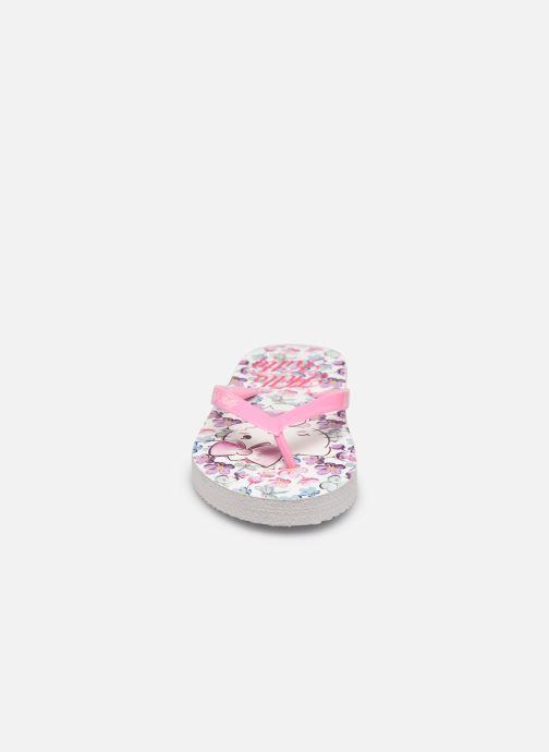Tongs Hello Kitty Hk Ubrisa Se C Rose vue portées chaussures