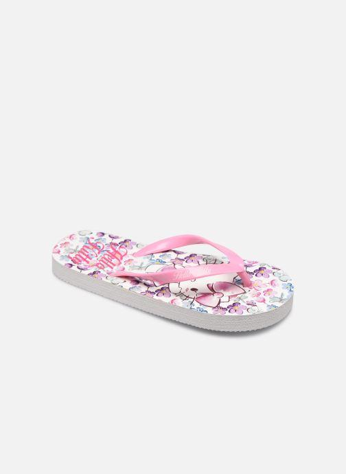 Tongs Hello Kitty Hk Ubrisa Se C Rose vue détail/paire