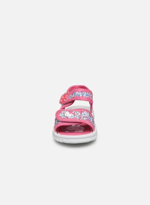 Sandali e scarpe aperte Hello Kitty Hk Naouel C Rosa modello indossato