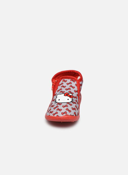 Chaussons Hello Kitty Hk Vanity C Gris vue portées chaussures