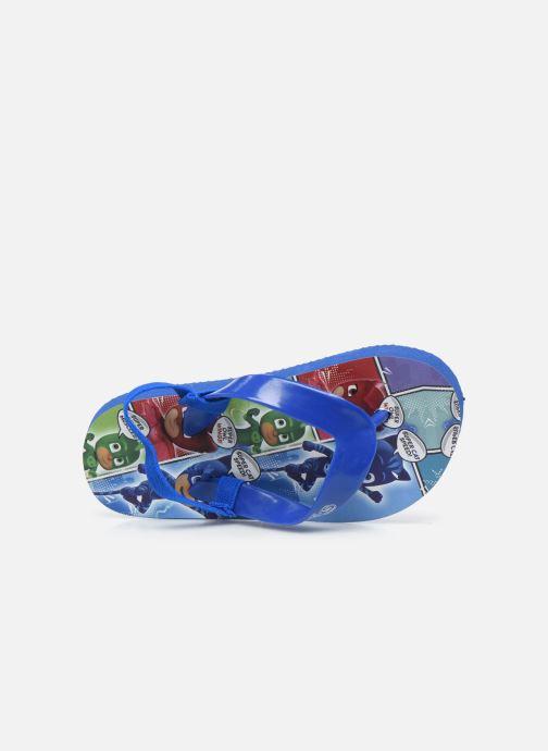 Chanclas PJ Masks Pj Jipan Ela C Azul vista lateral izquierda