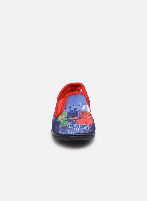 Chaussons PJ Masks Pj Masec C Bleu vue portées chaussures