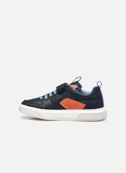 Sneakers Geox J Nettuno Boy C Azzurro immagine frontale