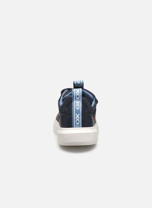 Sneakers Geox J Nettuno Boy C Azzurro immagine destra
