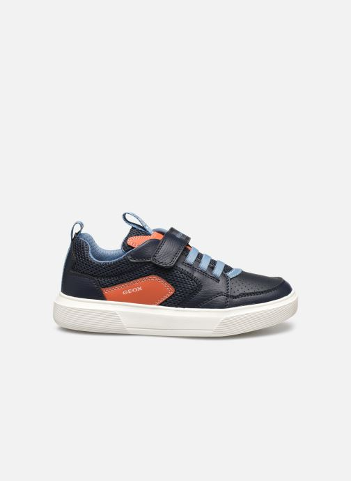 Sneakers Geox J Nettuno Boy C Azzurro immagine posteriore