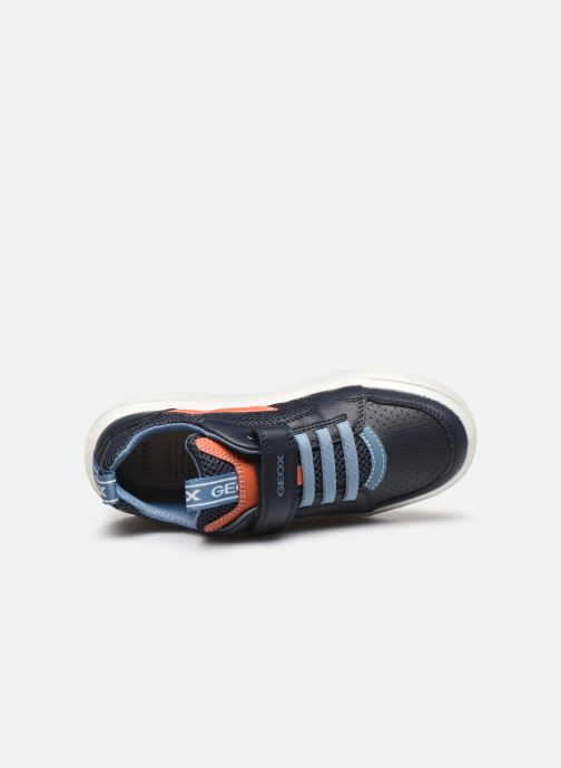 Sneakers Geox J Nettuno Boy C Azzurro immagine sinistra