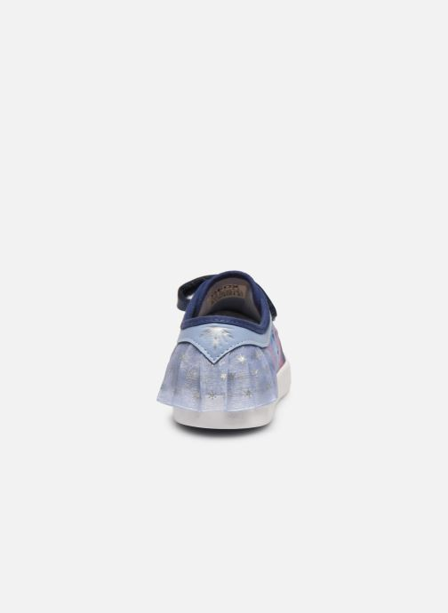 Trainers Geox J Hoshiko Boy/J025GB Blue view from the right