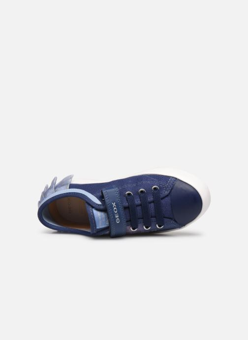Trainers Geox J Hoshiko Boy/J025GB Blue view from the left