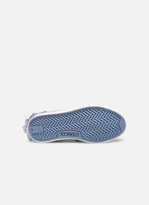 Trainers Geox J Hoshiko Boy/J025GB Blue view from above
