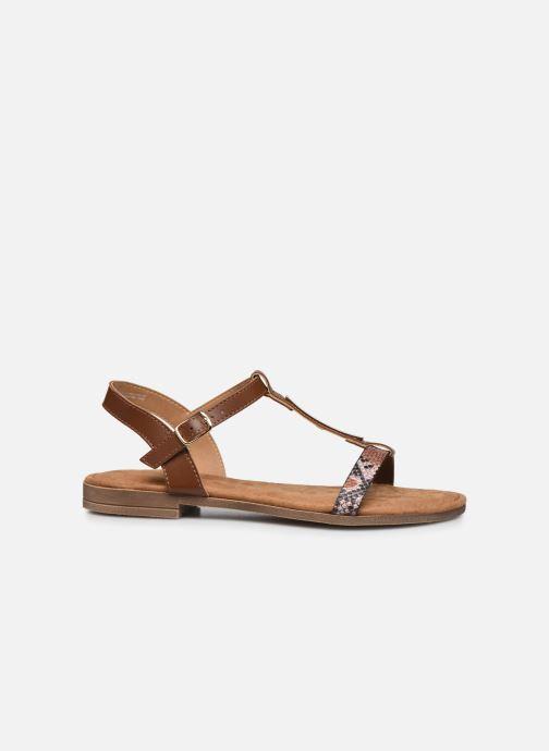 Sandales et nu-pieds Clarks Axelle Ray Marron vue derrière