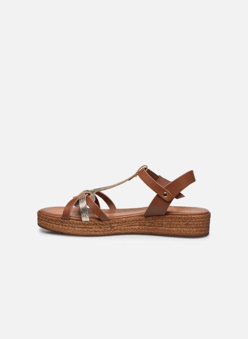 Sandales et nu-pieds Clarks Daniella Ray Marron vue face